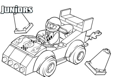 girl race car coloring page 20 best images about lego coloring pages on pinterest
