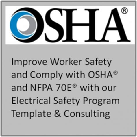 Electrical Safety Program Template Safety Program Review Training And Consulting Osha Electrical Safety Program Template