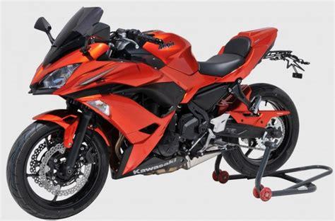 Motorrad Hinterradabdeckung Lackieren by Hinterradabdeckung Lackiert Kawasaki 650 Ab 2017
