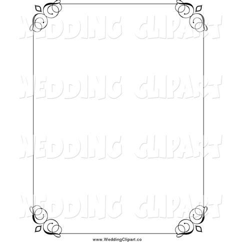 wedding decorative border free decorative wedding clip 39