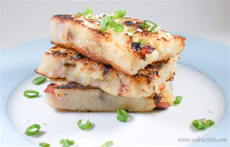 turnip cake new year meaning turnip cake 蘿蔔糕 salt chili