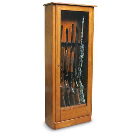 classics gun cabinet furniture classics 6 gun pine cabinet 127297