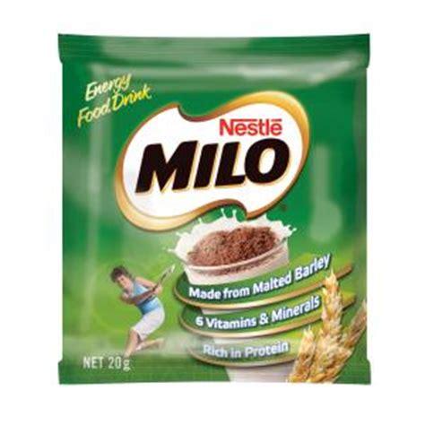 Milo Sachet Nestle Milo Sachets 20g 100 Staples Now Winc
