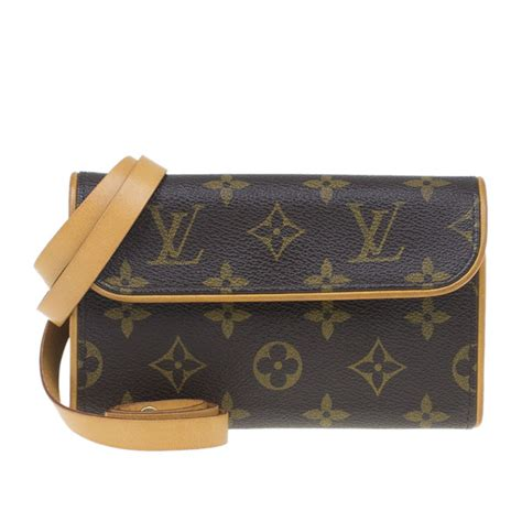 louis vuitton brown monogram canvas florentine convertible
