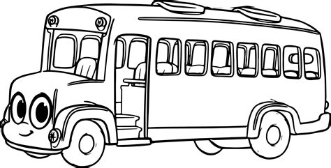 cartoon bus coloring pages pictures inspirational pictures