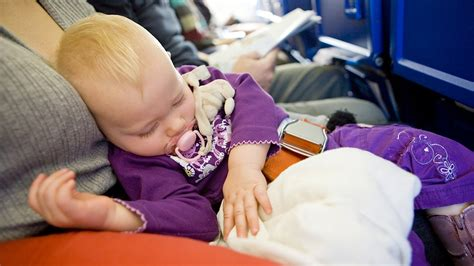 10 Tips For Flying With Baby Or Flights Safety Tips For Flying W Baby In Baby Travel