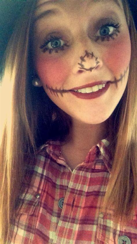 cute halloween scarecrow makeup girls halloween costumes