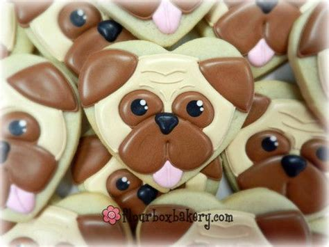 pug cookies 1000 ideas about shaped cookie cutter on shaped cookies