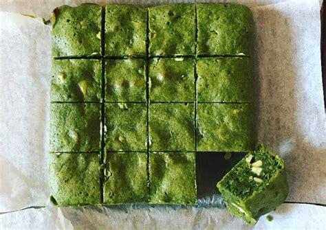 Freezy Browniezz Brownies Pasir Green Tea matcha green tea brownies recipe by yuki cookpad