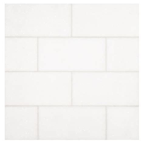 thassos honed 3 quot x 6 quot natural stone marble subway tile