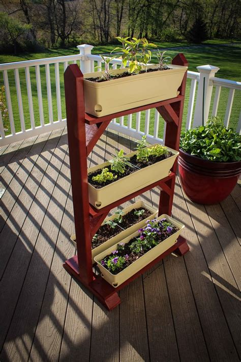 ana white simple plant stand diy projects