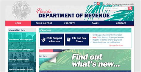 Myflorida Records Www Myflorida Dor Florida Department Of Revenue