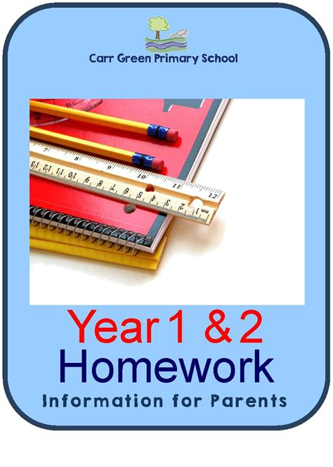 Homework Time Child School Set by Carr Green Homework