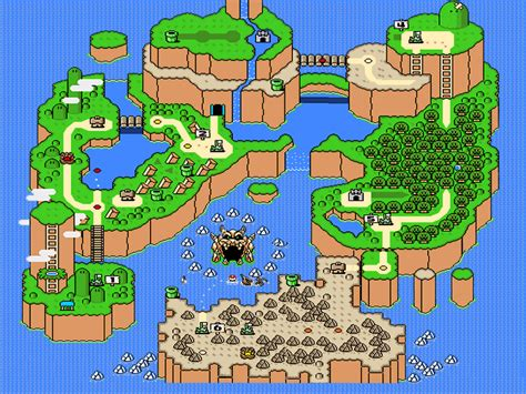 mario world map gaming in retrospect iii mario world on snes