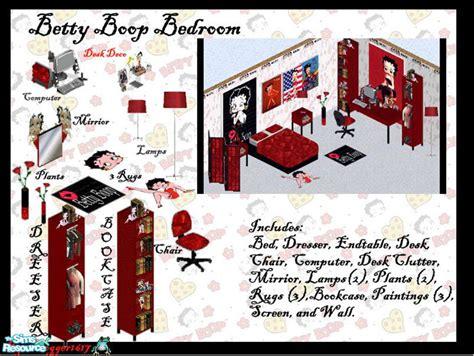 froggers betty boop bedroom set