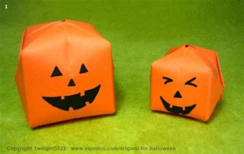 3d Origami Pumpkin - origami for