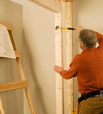 door installation how to install a pocket door into an existing wall