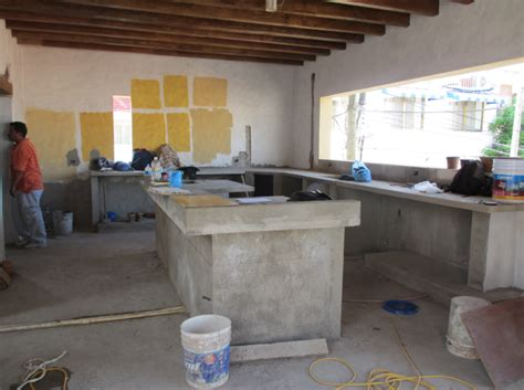 Cement Kitchen Cabinets Chairs Decorating Ideas And Poured Concrete On Pinterest