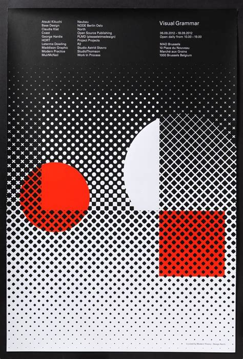 concept of motif pattern and profile halftone spots squares and star exle albumart