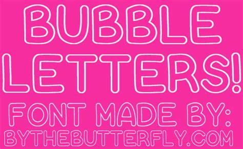 dafont bubblegum bubble letters dafont com