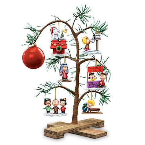 large charlie brown christmas tree peanuts classic memories tabletop tree trees trees and the o jays