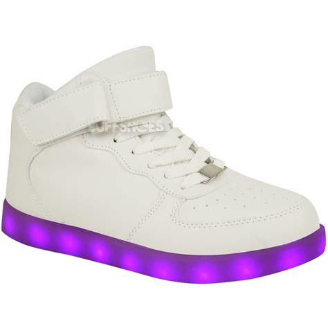 light up shoes for girls size 5 kids girls trainers flashing led luminous lights usb