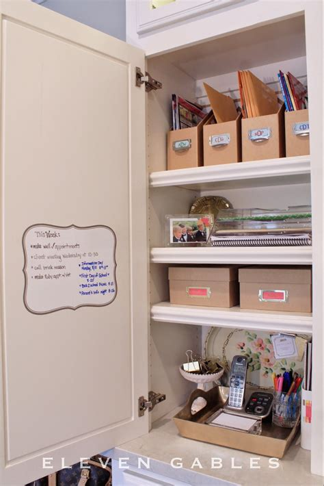 Operation Organization Command Center Kitchen Cupboard Kitchen Desk Organization