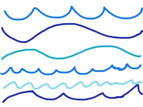 how to draw a water line on a model boat ocean wave line drawing water wave drawing drawing art
