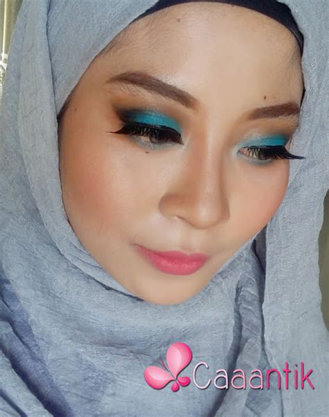 tutorial memakai lipstik nyx makeup tutorial blue smokey eyes