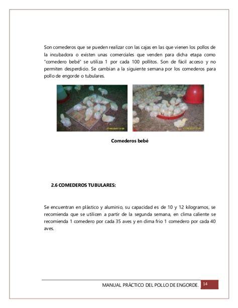 manual prctico de la manual pr 225 ctico del manejo de pollo de engorde
