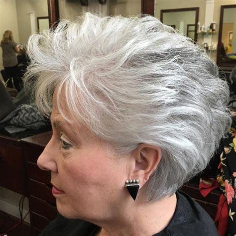 hair styles for white haired 90 year olds 60 gorgeous hairstyles for gray hair