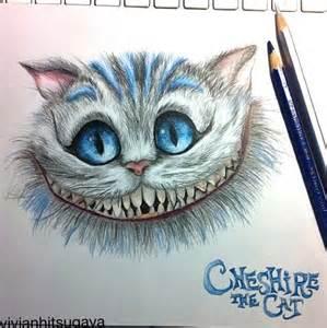 Cheshire cat drawing children s lit pinterest