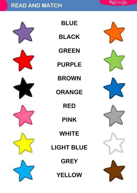 The Colour colours the colours exercise