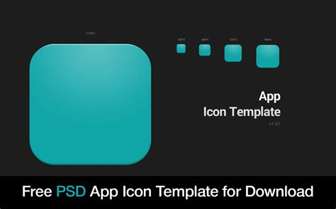 free app icon template psd by how2des on deviantart
