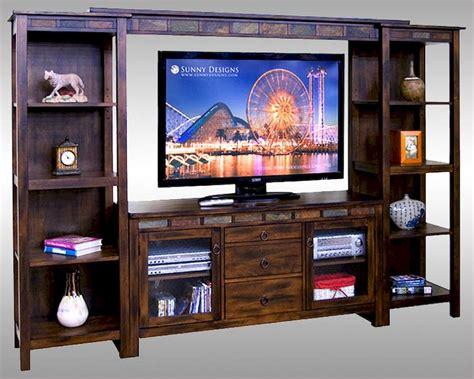 entertainment center design sunny designs wall entertainment center santa fe su 3403dc