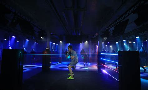 multi sensory workout clubs immersive experience
