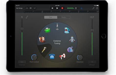 Garageband On Macbook Air Apple S Logic Pro X For Mac And Garageband For Ios Receive