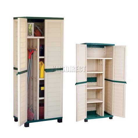 exterior plastic storage cabinets starplast outdoor plastic garden utility cabinet with