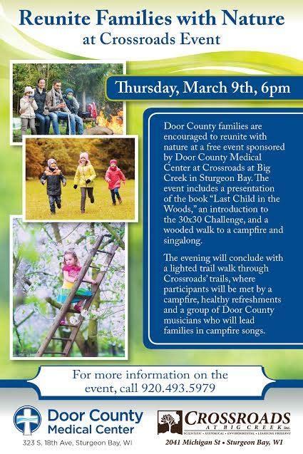 Door County Calendar Of Events by Reuniting Families With Nature Door County Parents