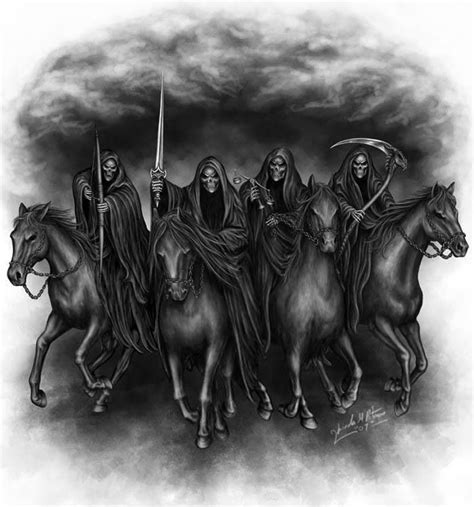 four horsemen of the apocalypse quotes like success