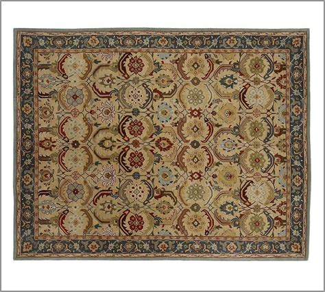 New Pottery Barn Handmade Persian Eva Area Rug 5x8 Rugs Pottery Barn Area Rugs