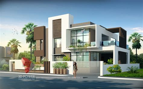 house 3d 3d bungalow elevation studio design gallery best