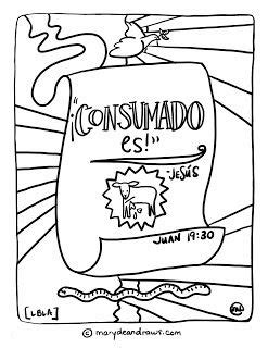 easter coloring pages in spanish 16 best spanish bible coloring pages images on pinterest