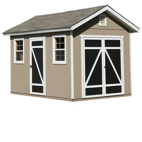 8x12 Shed by Hillsdale 8ft X 12ft Heartland Industries