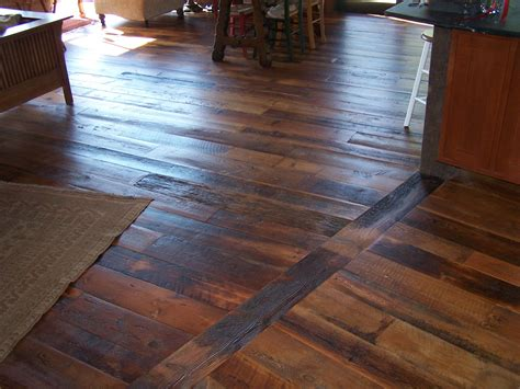 Hardwood Flooring Wide Plank Reclaimed Wood Flooring Black S Farmwood
