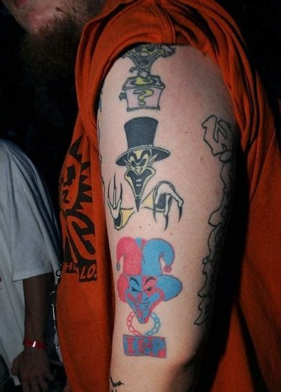 juggalo tattoos designs icp tattoos