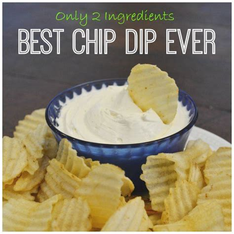 cream cheese dip the best chip dip ever