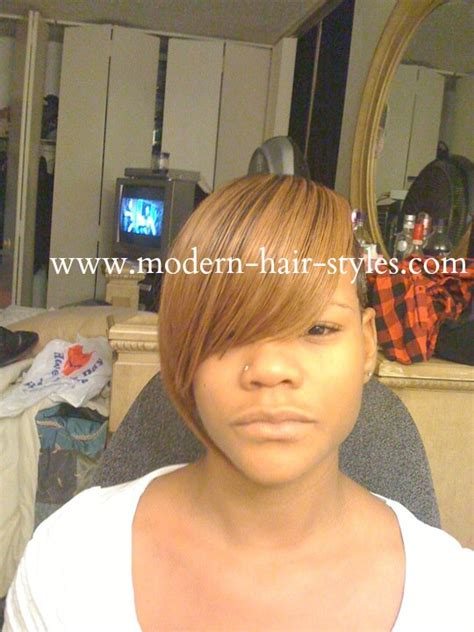 weave with shaved side black short hairstyles pixies quick weaves texturizers