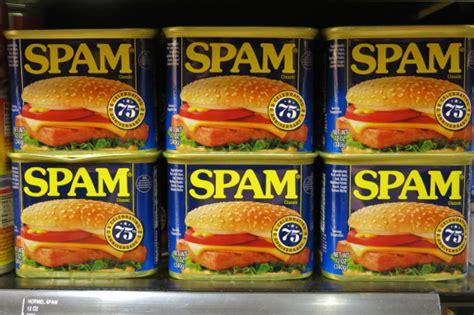 hawaii has a affair with spam