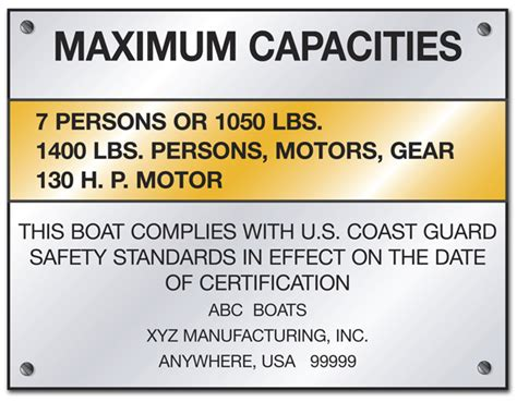 boat capacity rules washington boating license handbook for online boater